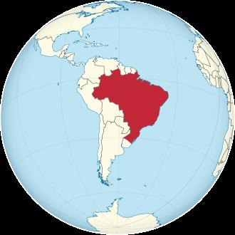 Lage von Brasilien