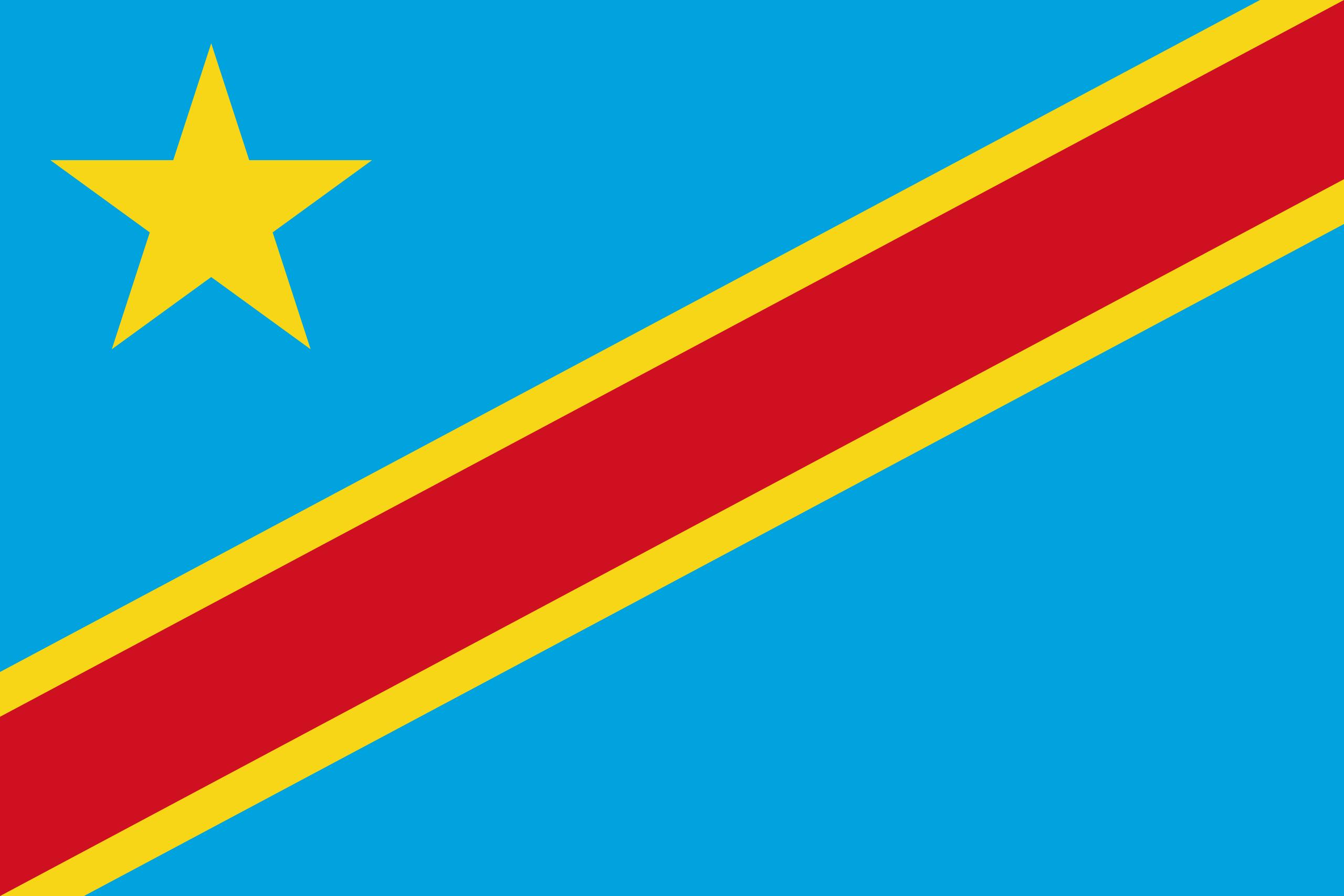Flagge von Kongo