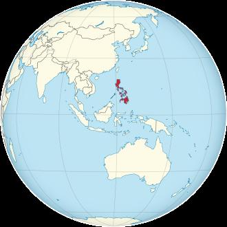 Lage von Philippinen