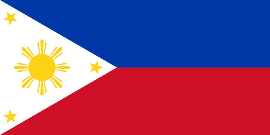 Flagge von Philippinen