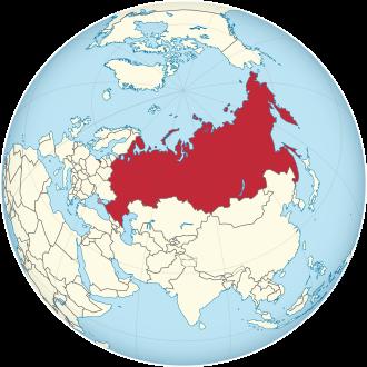 Lage von Russland
