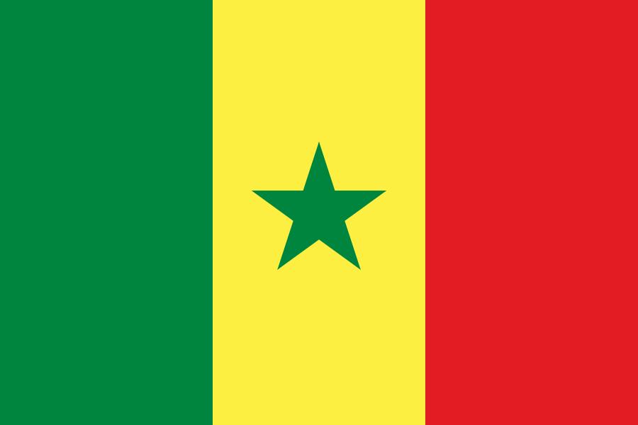 Flagge von Senegal