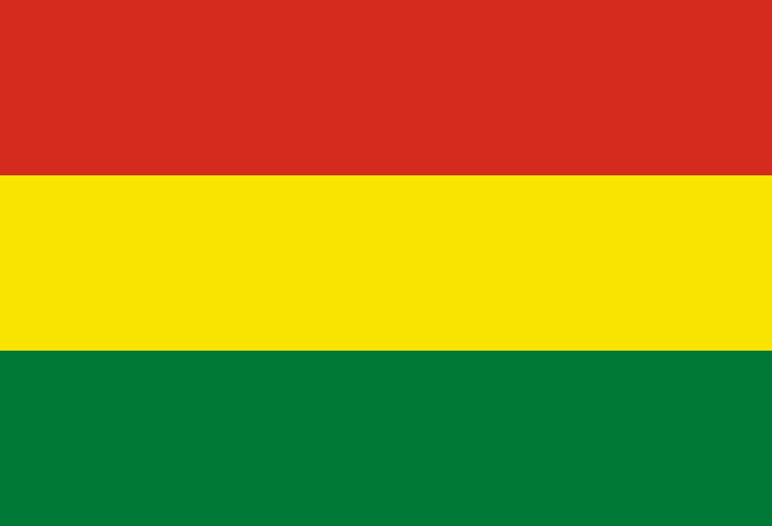 Flagge von Bolivien